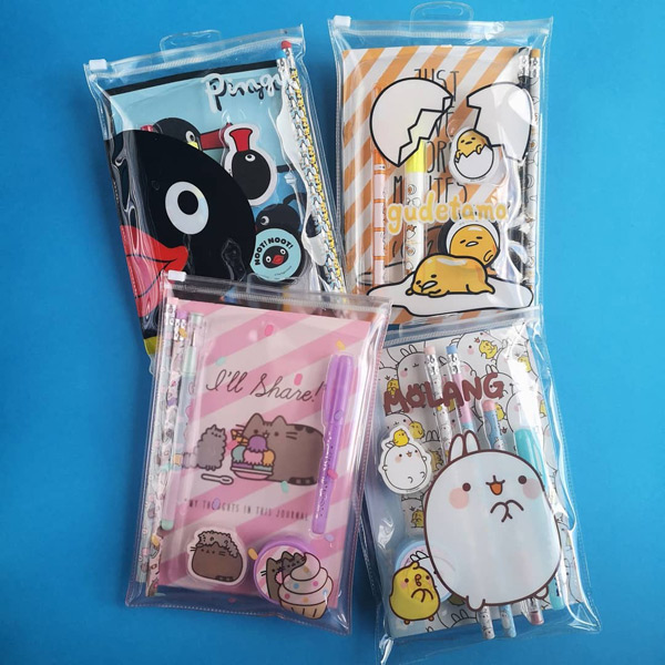 kawaii stationery sets