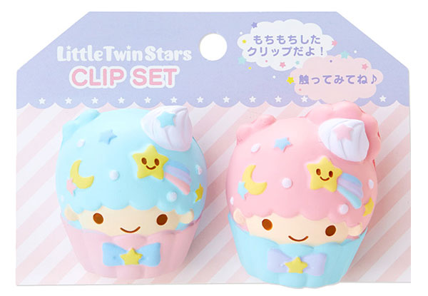 kawaii kitchen Little Twin Stars magnetic clips