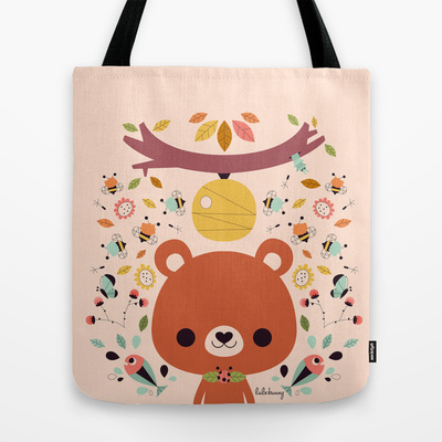 Luli Bunny Tote Bags - Super Cute Kawaii!!