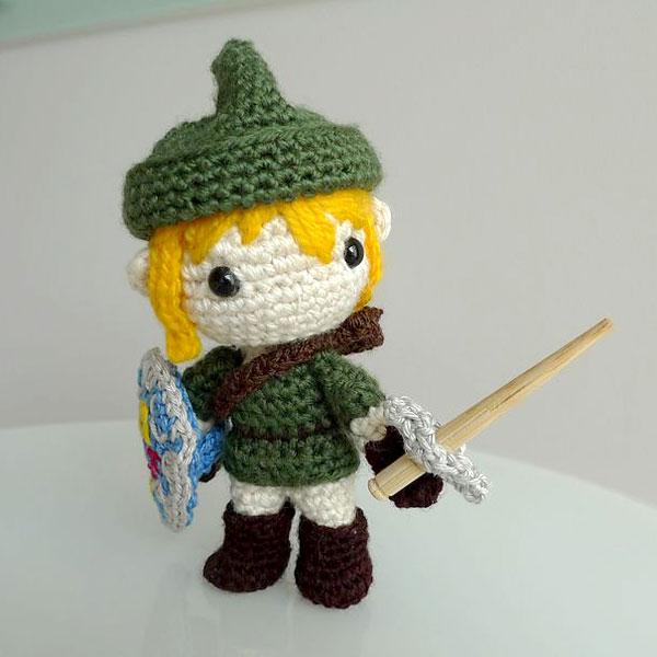 Link's Awakening kawaii amigurumi crochet pattern