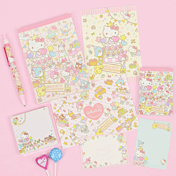 hello kitty kawaii stationery