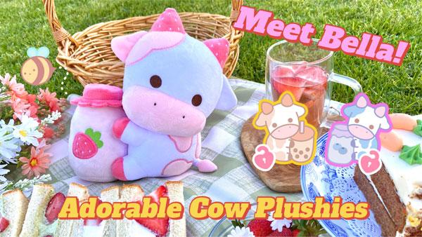 cow kawaii plush