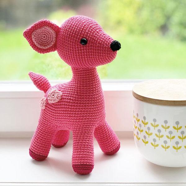 kawaii deer amigurumi crochet pattern
