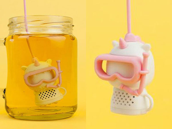 Kawaii Unicorns - tea infuser