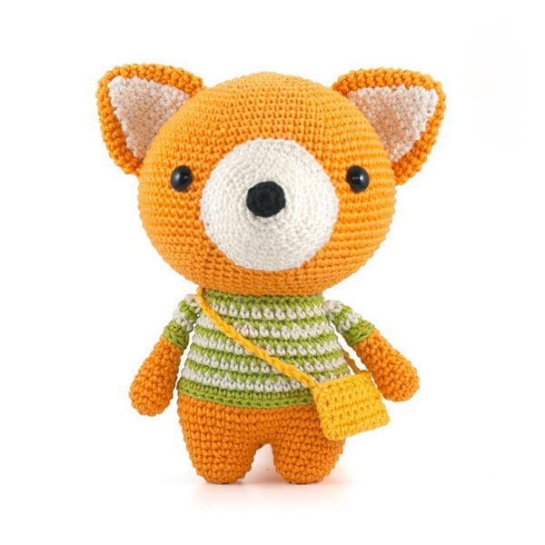 fox kawaii amigurumi crochet pattern