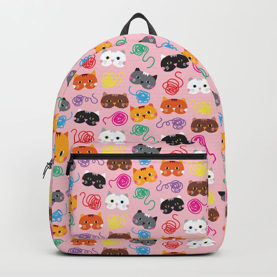 Kawaii Bags cats backpack