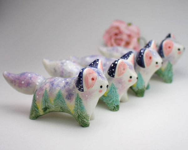 Kawaii Ceramics Artists - Star and Heart Studio