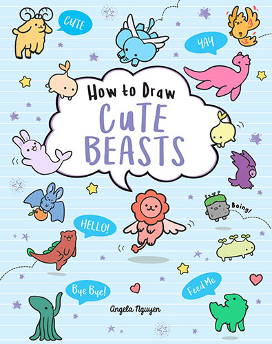 How to Draw Cute Beasts kawaii drawing book