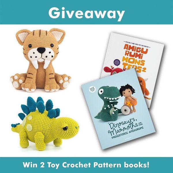 amigurumi crochet books giveaway