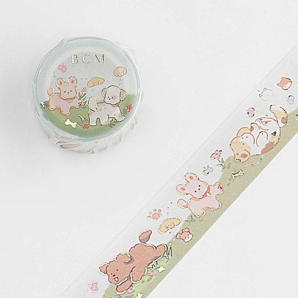 Kawaii Dogs washi tape