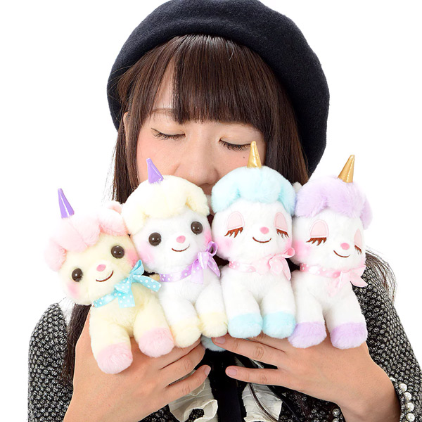 Kawaii Amuse plushies - unicorn
