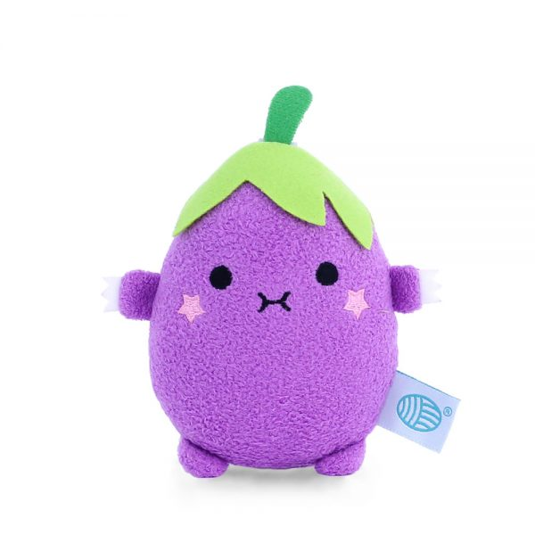 aubergine kawaii plush