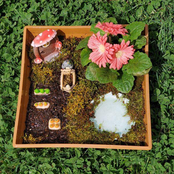 Kawaii Totoro Mini Garden DIY