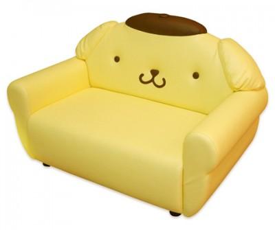 pom pom purin sofa super cute kawaii cute shaped pink unique beds for girls