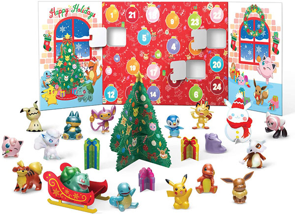 Cute 2020 Advent Calendars - Pokemon