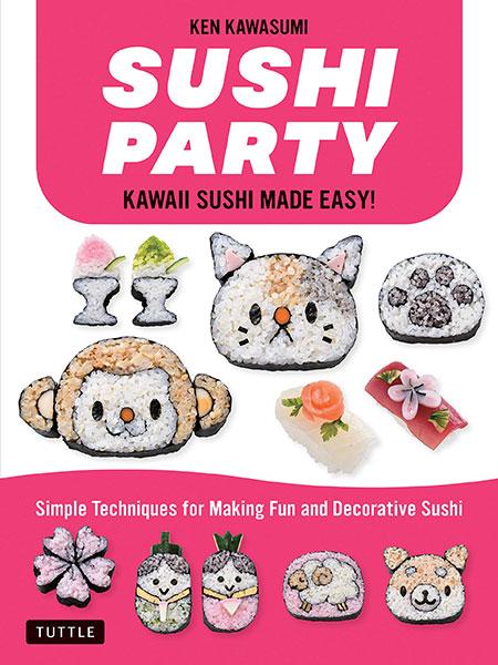 New Kawaii Books - Sushi Party