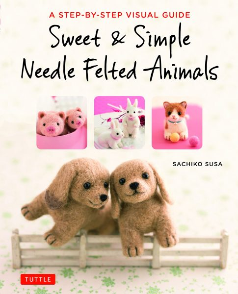 Craft Books: kawaii needle felting