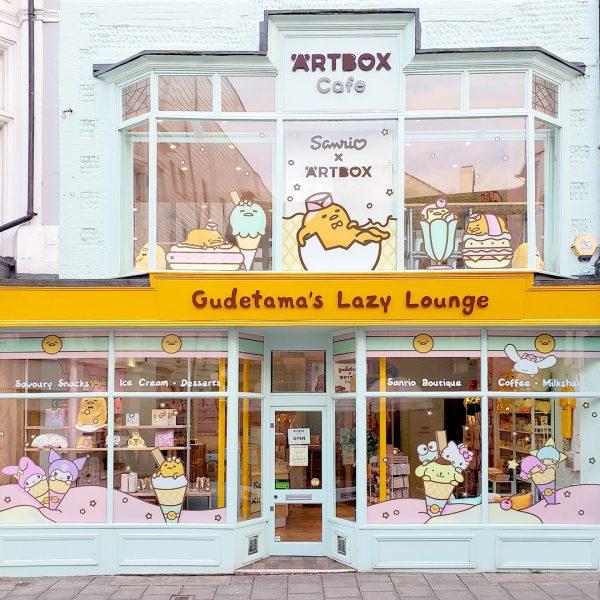 Gudetama's Lazy Lounge at ARTBOX Cafe
