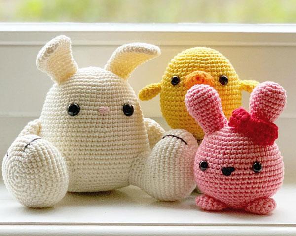easter amigurumi crochet patterns