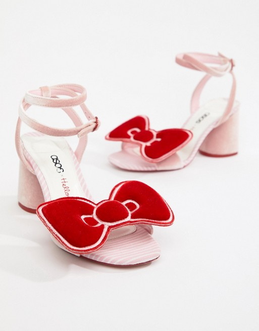 Hello Kitty x ASOS shoes