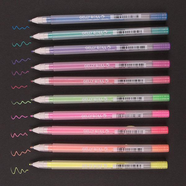 kawaii stationery gelly roll pens