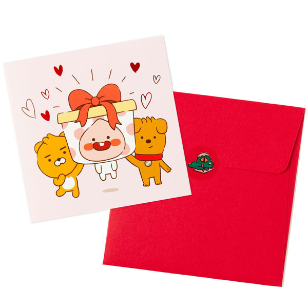 Kakao Friends kawaii cards