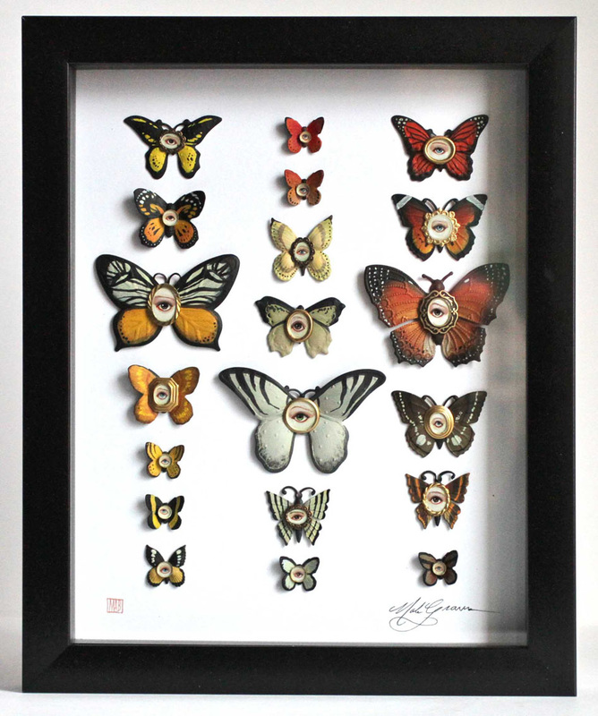 Mab Graves - Cabinet of Curiosities Specimen No. 214