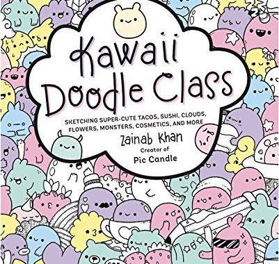 kawaii doodle class drawing book