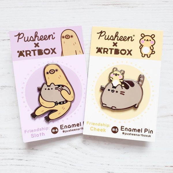 ARTBOX x Pusheen Enamel Pins