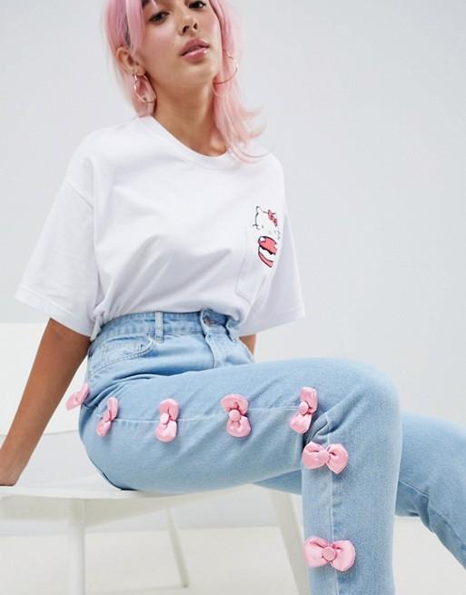 Hello Kitty x ASOS jeans
