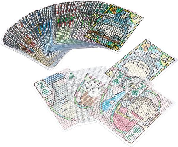 Ghibli Totoro playing cards