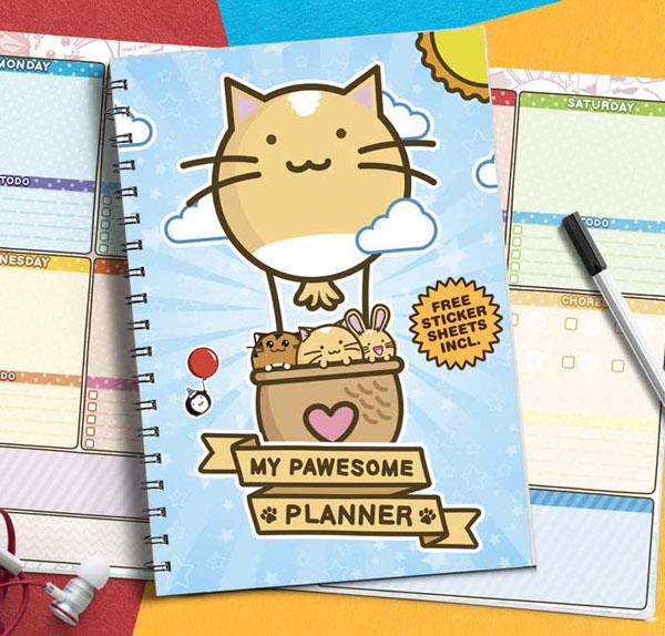 Kawaii planner notebook