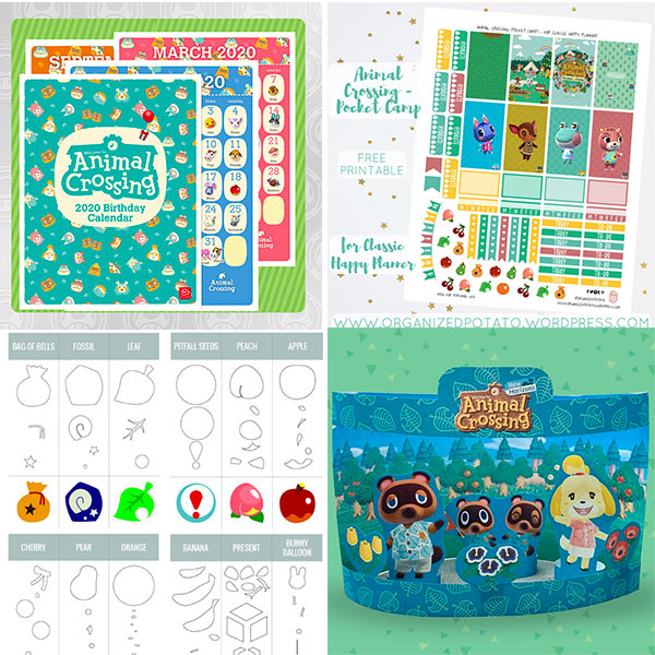 Animal Crossing printables