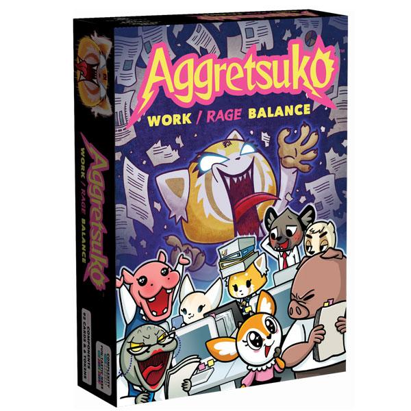 Aggretsuko card game