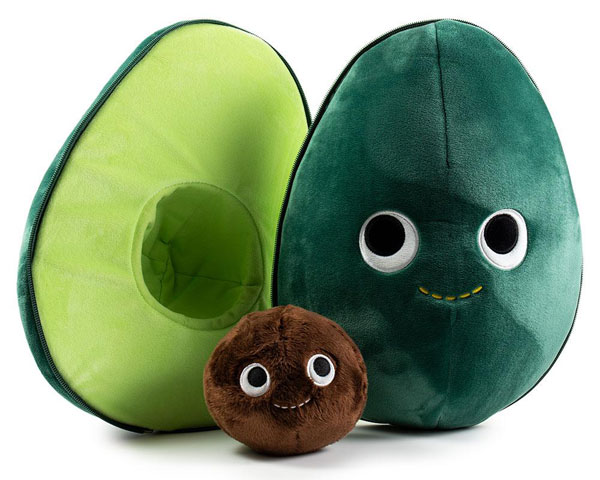 Yummy World kawaii avocado plush