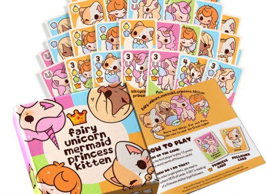 Fairy, Unicorn, Mermaid, Princess, Kitten Kawaii Card Game