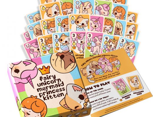 Fairy, Unicorn, Mermaid, Princess, Kitten Kawaii Card Game