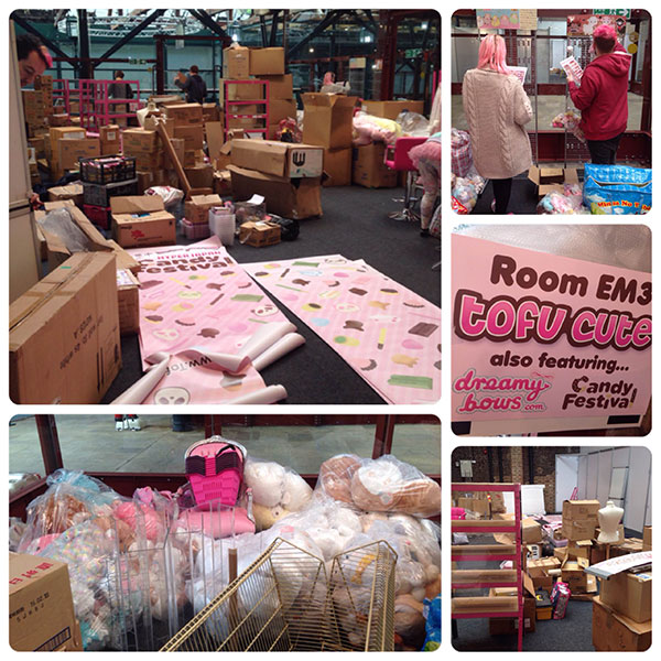 Build up for Hyper Japan