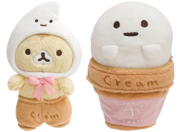 Corocorocoronya plush cat ice cream