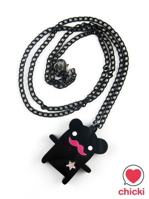 Colonel Bear Necklace