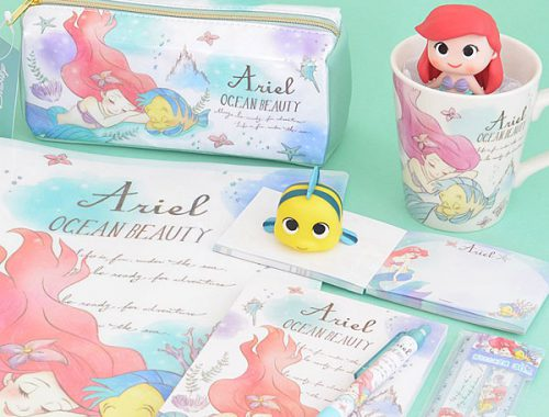 kawaii panda ariel stationery