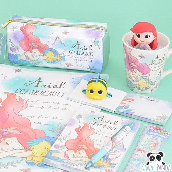 kawaii panda ariel stationery