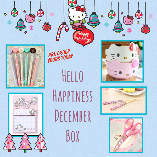 Hello Happiness Kawaii Subscription Box