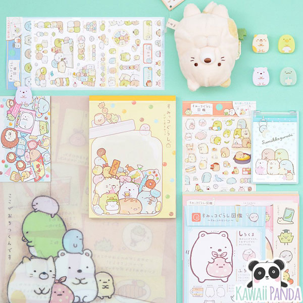 sumikko gurashi kawaii stationery