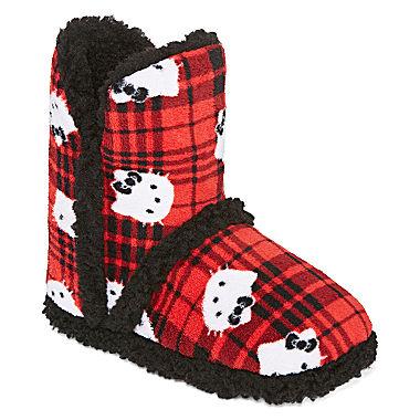 hello kitty slipper boots