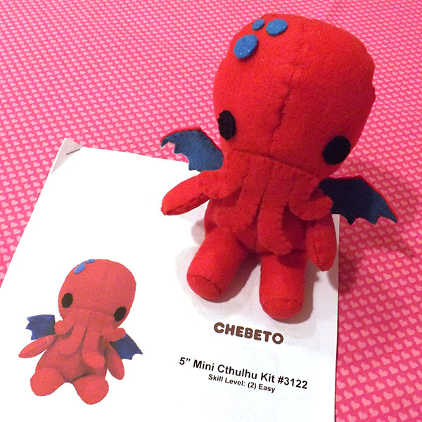Chebeto Mini Cthulhu Plush Kit