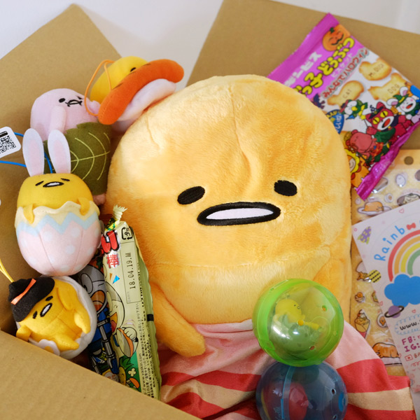Gudetama kawaii subscription box