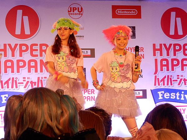 Haruka Kurebayashi at Hyper Japan