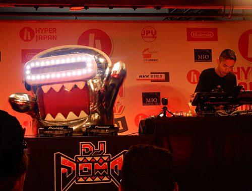 DJ DOMO at Hyper Japan