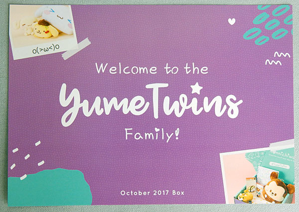 YumeTwins subscription box review